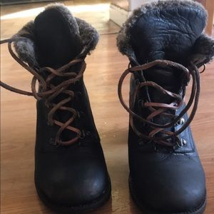 Freebird laceup boots